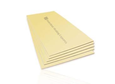Fußbodenheizung 6 mm XPS Boden Dämmplatten (1200 mm x 600 mm) 10 Blatt