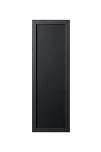 Bi-Office, Blackboard Back2Chalk Essentials, Kreidetafel mit Schwarz Matt MDF Rahmen, 20x60cm