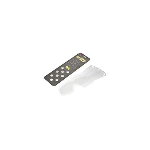 100% Speedlab 51014-010-02 Barstow Standard Tear-Offs-20 Stück (klare Gläser, freie Größe)