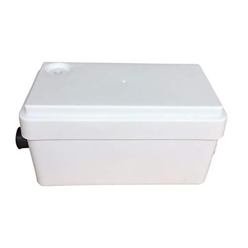 Macerator Bomba Sanitaria P250 Bomba de Aguas Residuales para Ducha, Fregadero, Bañera, etc. 250 W 2 en 1