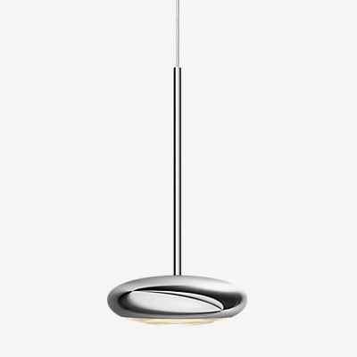 Bruck Blop Pendelleuchte LED Duolare, schwarz, 100°
