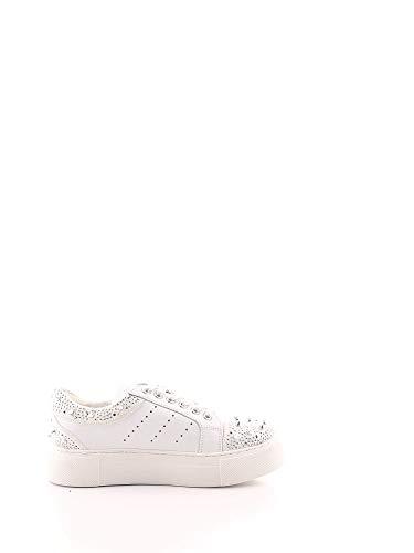 Cult Luxury Fashion Damen CLE104366 Weiss Leder Sneakers   Frühling Sommer 20
