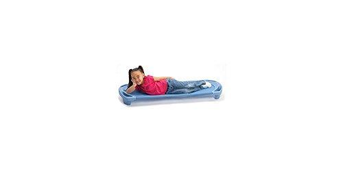 Angeles SpaceLine Kids Standard Rest Cot - 4 Pack, Sand