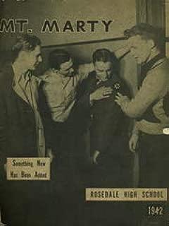 (Custom Reprint) Yearbook: 1942 Rosedale High School - Mounty Marty Yearbook (Kansas City, KS)