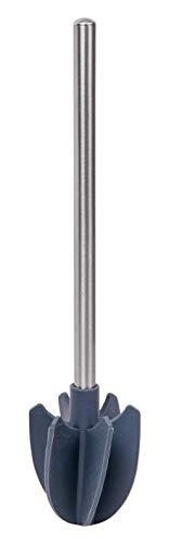 FACKELMANN Silikon-Reinigungsbürste, Alu, 37 x 8 cm