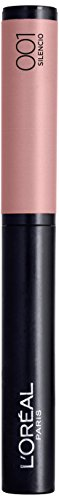 L'Oréal Paris Infaillible Lippenstift X3 Matte, 001 Silencio - Puder Lipstick mit ultra-weichem Applikator - farbintensives, mattes Finish & 8h Halt, 1er Pack