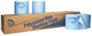 12 in. x 738 ft. Roll Polycoated Blue Paper