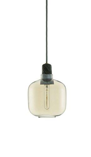 Normann Copenhagen Amp Lampe klein goldgrün Höhe 17 cm Pendelleuchte