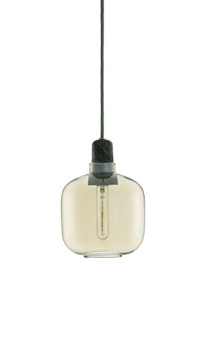 Normann Amp Pendant Lamp Gold Green - Small