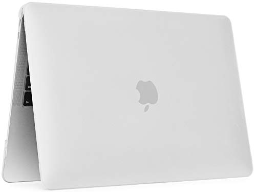 mCover Hard Shell Cover Case for 13.3-inch Apple MacBook Air (A1932 Model with Retina Display, Touch ID & All USB-C Ports, NOT Compatible w/Older MacBook Air A1369 / A1466 Model) (Clear)