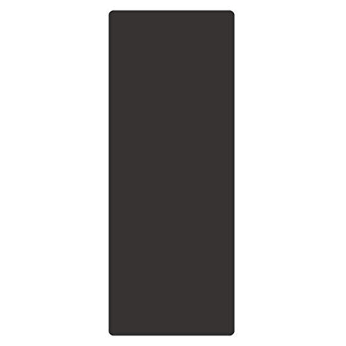RXL Ejercicio 4 mm Caucho Natural Yoga Y de los Hombres de Las Mujeres Mat Principiante Estera de la Aptitud de ampliarse y alargarse Antideslizante Yoga Formación (Color : Black)