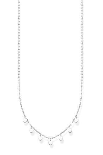 Thomas Sabo Collar Señoras Plata de Ley 925 circonita Otra Forma - KE2107-001-21-L45v