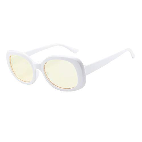 LEEDY Occhiali da Sole a Vento Street, Occhiali con Montatura Ovale Cool personalità Unisex