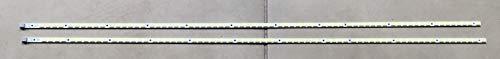 SVS46_2ND_120HZ Backlight LED Strips Compatible for Samsung UN46B6000VFXZA (2 Strips)
