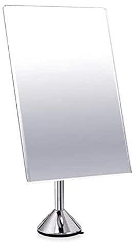 Cuarto de baño Magnificación de Maquillaje Espejo portátil de cosméticos de Viaje Viaje Compacto Vanity Mirror 3X Lupa de succión Fuerte 360 ° Rotación for el Dormitorio.