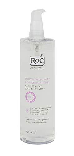 RoC 3574660536850 Agua Micelar   Higiene Facial, Limpia, Desmaquilla, Alivia & Refresca el Rostro   para Todo Tipo de Pieles   400 ml  1 Unidad