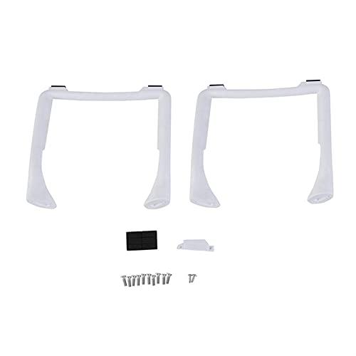 2pcs Atterraggio Gears Skid/Fit for - D-J-I Phantom 3 Altezza Estensione delle Gambe Piedi Supporto Quad Sostituzione Accessori per Drone Drone Landing Gear Extender (Color : White)