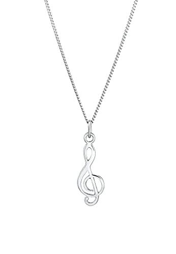 Elli Collares Símbolo de la clave de las damas en plata esterlina 925