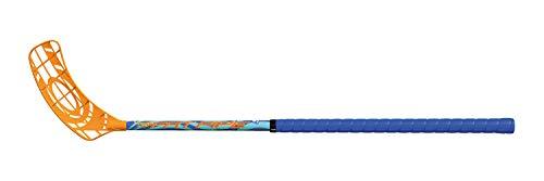 Fat Pipe Floorball Schläger Unihockey Stock Venom 34 Kids, Blue '20 (Schaftlänge 60 cm, für Rechtshänder, rechte Hand Oben am Schläger, sogenannter Linksausleger)