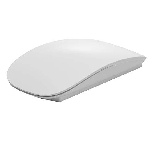 WXX TM-823 2.4G 1200 DPI Wireless Touch Scroll Optical Mouse for Mac Desktop Laptop(Black) (Color : White)