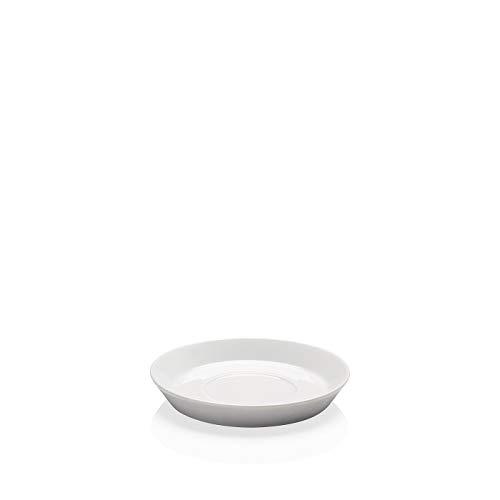 Arzberg Tric Cool Kaffee-Untertasse, Porzellan, 15.4 x 15.4 x 9 cm