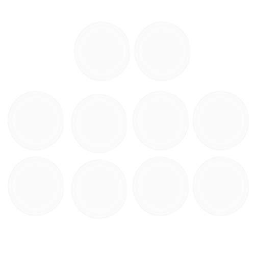 Toyvian Etiquetas adhesivas de sellado transparente, etiquetas autoadhesivas para etiquetas de correo...