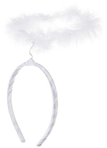 Smiffys Damen Engel Heiligenschein, One Size, Weiß, 21026
