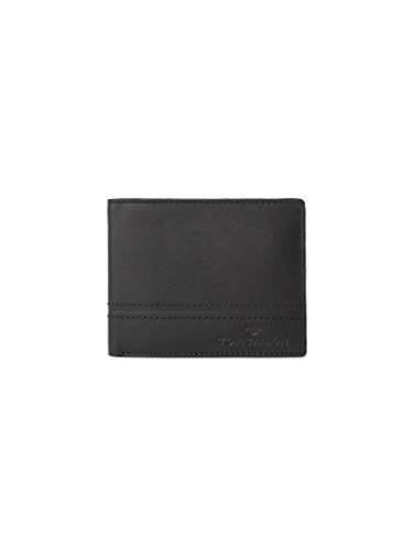 TOM TAILOR Herren Taschen & Geldbörsen Portemonnaie Jerrie schwarz/Black,OneSize