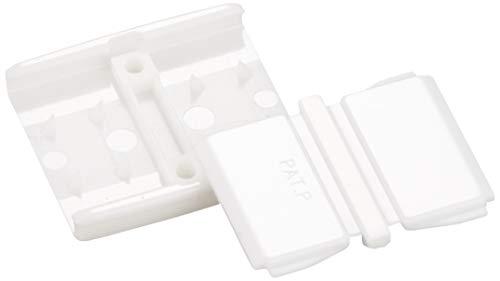 川村製紐 金天馬 ゴムパッチン 15mm 4組入 白 KA08701