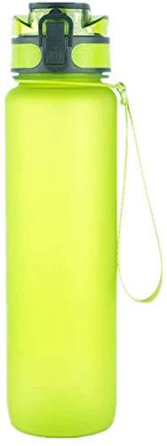 XHCP Botella de Gimnasio Botella de Agua para niñas Botella de Agua Transparente Botella de Agua Linda Botella Deportiva Botella de Agua Reutilizable Botellas de Bebidas Deportivas Bote