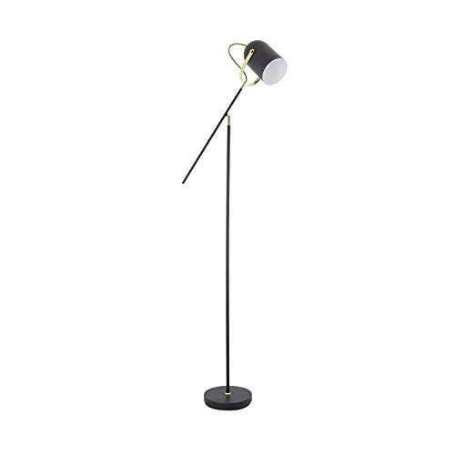 LEDKIA LIGHTING Lámpara de Pie Cano Negro Negro