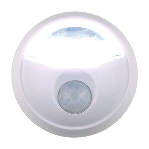 LEDセンサーライト(LED照明) 乾電池式/角度調節可/オートモード付き (玄関/廊下/階段) ds-1629945