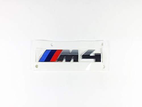 Original BMW M4 Emblem Logo Chrom