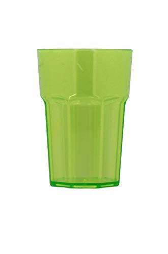 TheKitchenette Verre americain Vert 44 cl/incassable/Transparent
