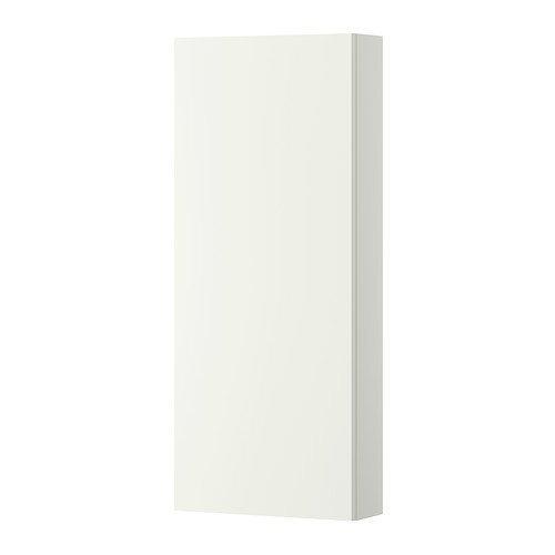 Ikea GODMORGON - Mueble de pared con puerta 1, blanco - 40x14x96 cm