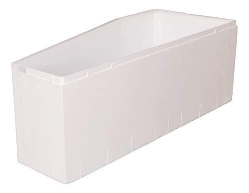 Calmwaters® - Essential Small - Wannenträger aus Styropor für 160 x 70 cm große Badewannen in rechter Ausführung - 03AX4978