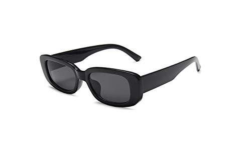 Óculos De Sol Vintage Celebridades Fashion Hippie Oval A-937 (Preto)
