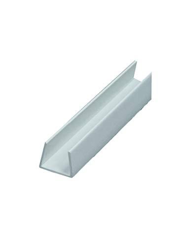 50 x PVC Einfassprofil 12,5 mm gleichschenklich 250 cm = 125 lfdm GKP Gipskartonplatte Trockenbauprofil Kantenprofil Einfaßprofil
