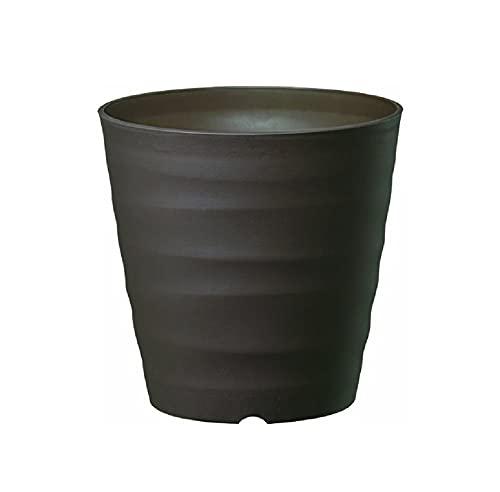 大和プラスチック (ACTOR) 鉢・プランター フレグラーポット 18型 小さめサイズ ダークブラウン 奥行18×高さ18×幅18cm