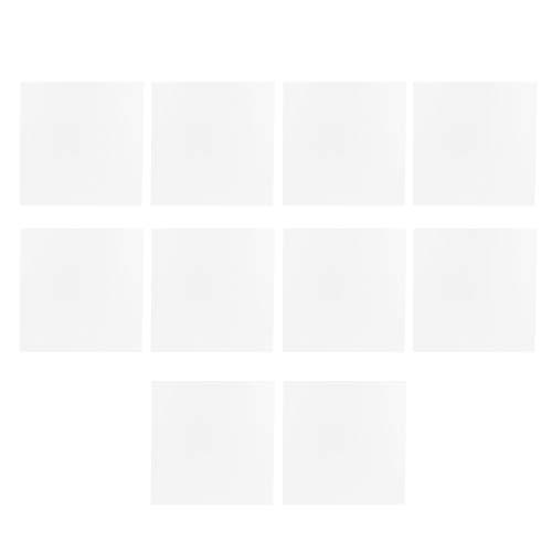 LIXINhengkj 10 Unids/Set Piso Etiqueta No Impermeable Auto- Adhesivo de Pared Azulejos Adhesivos para Dormitorio Cocina Casa Decoración