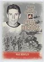 Max Bentley (Hockey Card) 2009-10 In the Game Heroes and Prospects - Real Heroes #RH-21