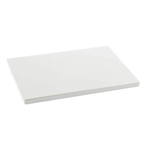 Metaltex - Tabla de cocina, Polietileno, Blanco, 33 x 23 x 1,5...
