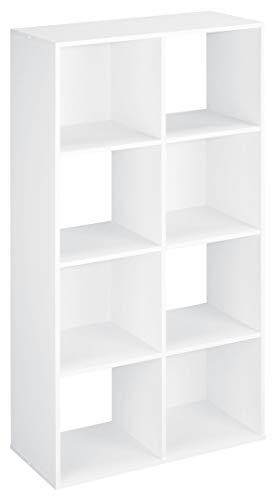 ClosetMaid 420 Cubeicals Organizer, 8-Cube, White