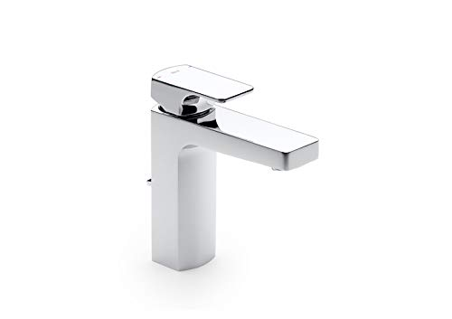 Roca L90 A5A3001C00 - Mezclador monomando para lavabo con desagüe automático, Cromado