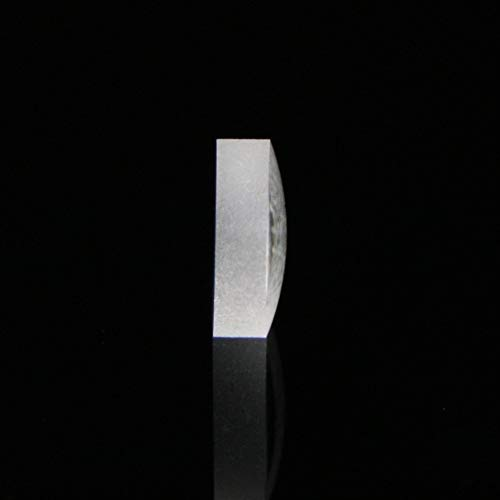 Without brand XXF-gxpj, Infrarot-Objektiv Plankonvexe Objektiv-Durchmesser 5 mm Mittendicke 1,7 mm Optisches Glas Kollimationslinse Focusing (Größe : 5mm)