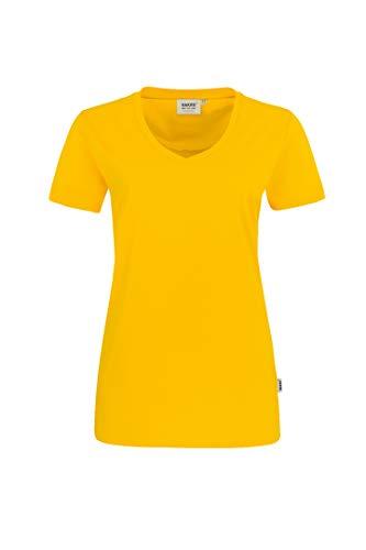 HAKRO Damen T-Shirt Performance - 181 - sonne - Größe: 3XL