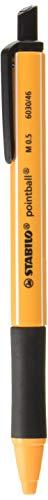 スタビロ油性ボールペンポイントボール0.5mmブラック2本B6030-46