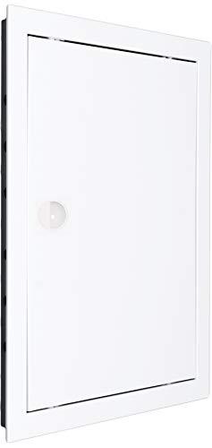 Mm Technik, sportello d'ispezione in plastica ABS; colore: bianco di alta qualità.- 20x25cm