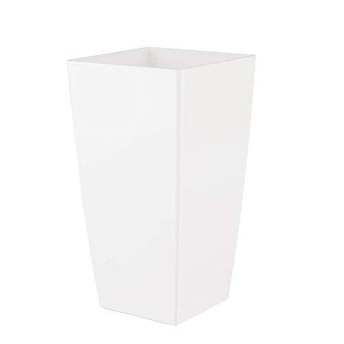 Vasart Piza Vaso de Flores, Branco, 14x26cm, 1 Unidad