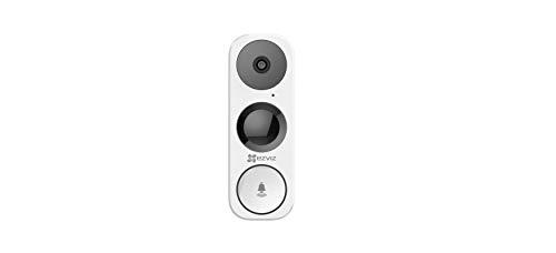 Video Doorbell WiFi Camera 3MP HD, PIR Motion Detection, 2-Way Audio, Weatherproof for Outdoor